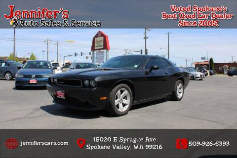2011 Dodge Challenger for sale at Jennifer's Auto Sales in Spokane Valley WA