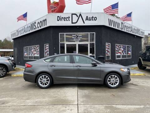 2019 Ford Fusion for sale at Direct Auto in D'Iberville MS