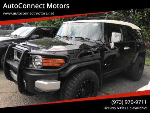 2010 Toyota FJ Cruiser for sale at AutoConnect Motors in Kenvil NJ