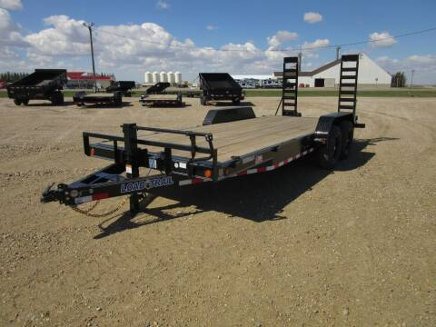 2021 Load Trail EQUIPMENT TRAILER for sale at Nore's Auto & Trailer Sales - Dump Trailers in Kenmare ND