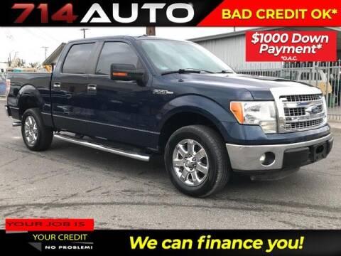 2013 Ford F-150 for sale at 714 Auto in Orange CA