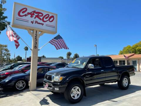 2001 Toyota Tacoma for sale at CARCO SALES & FINANCE - CARCO OF POWAY in Poway CA