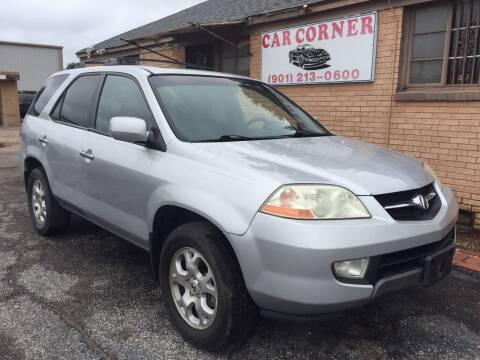 2002 Acura MDX for sale at Car Corner in Memphis TN