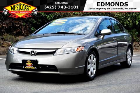 2007 Honda Civic for sale at West Coast Auto Works in Edmonds WA