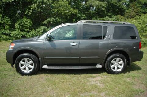 2010 Nissan Armada for sale at Bruce H Richardson Auto Sales in Windham NH