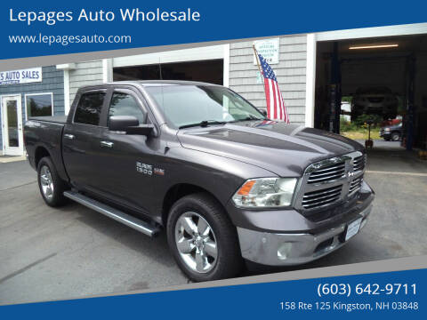2016 RAM Ram Pickup 1500 for sale at Lepages Auto Wholesale in Kingston NH