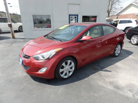 2011 Hyundai Elantra for sale at DeLong Auto Group in Tipton IN