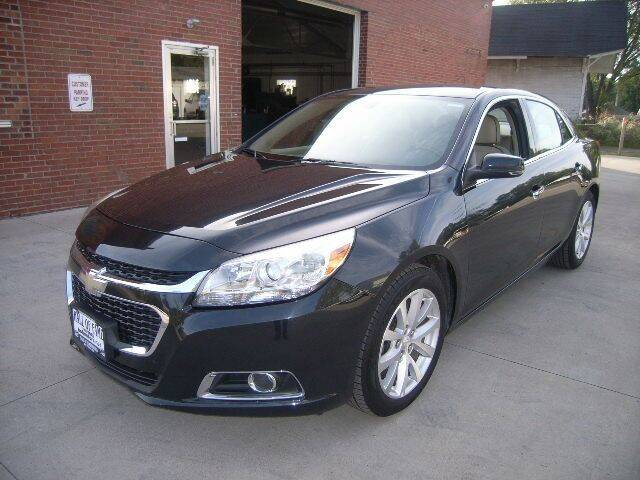 2015 Chevrolet Malibu for sale at HALL OF FAME MOTORS in Rittman OH