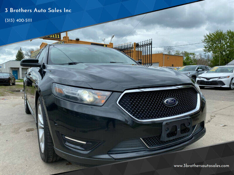 2013 Ford Taurus for sale at 3 Brothers Auto Sales Inc in Detroit MI