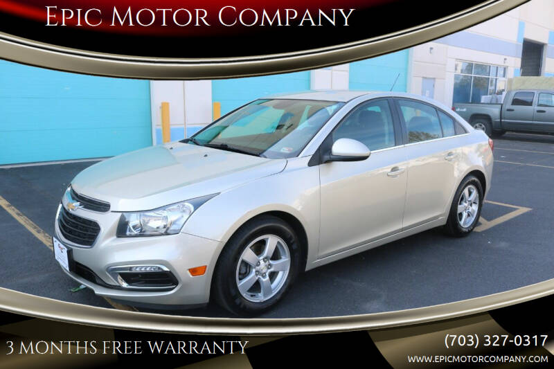 2016 Chevrolet Cruze Limited for sale in Chantilly, VA