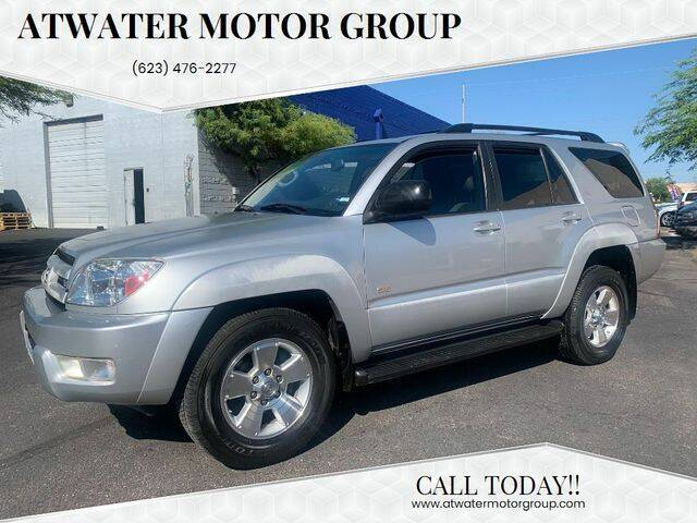 2004 Toyota 4Runner for sale at Atwater Motor Group in Phoenix AZ