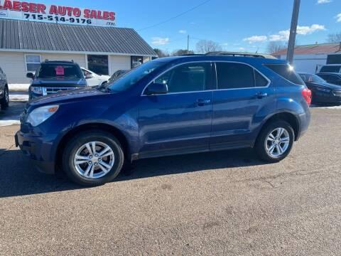 2010 Chevrolet Equinox for sale at BLAESER AUTO LLC in Chippewa Falls WI