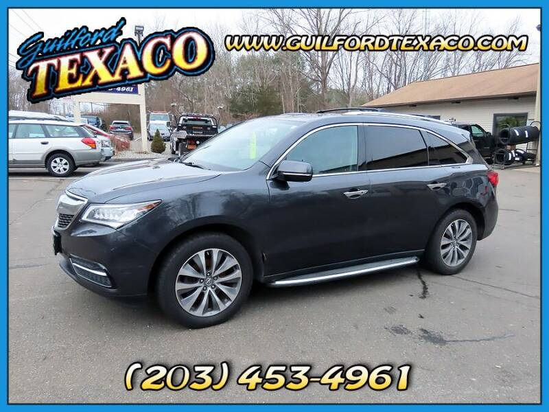 2015 Acura MDX for sale at GUILFORD TEXACO in Guilford CT