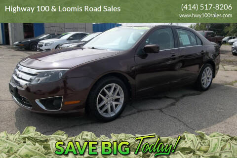 2012 Ford Fusion for sale at Highway 100 & Loomis Road Sales in Franklin WI