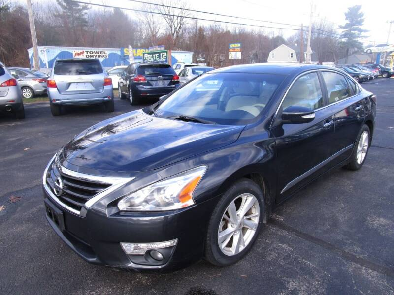 2015 Nissan Altima for sale at Route 12 Auto Sales in Leominster MA