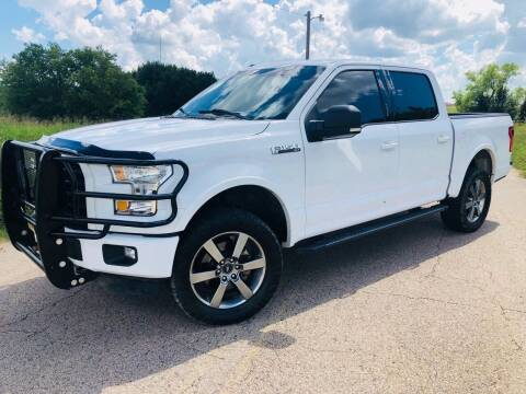 2016 Ford F-150 for sale at The Truck Shop in Okemah OK