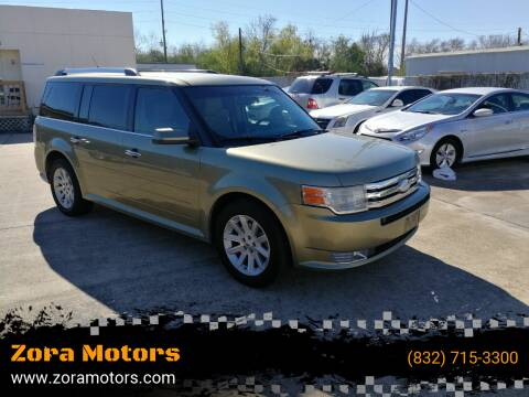 2012 Ford Flex for sale at Zora Motors in Houston TX