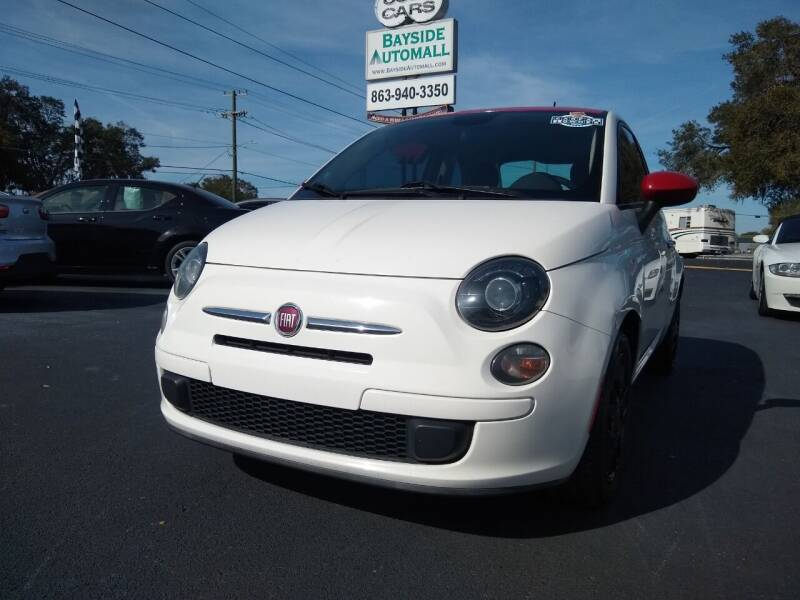 2015 FIAT 500 for sale at BAYSIDE AUTOMALL in Lakeland FL