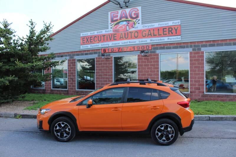 2019 Subaru Crosstrek for sale at EXECUTIVE AUTO GALLERY INC in Walnutport PA