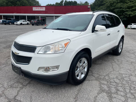 2012 Chevrolet Traverse for sale at Certified Motors LLC in Mableton GA