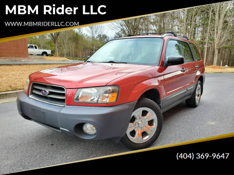 2004 Subaru Forester for sale at MBM Rider LLC in Alpharetta GA