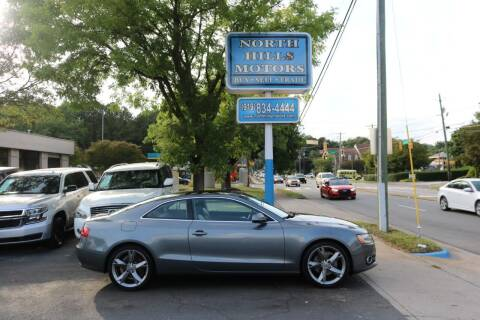 2012 Audi A5 for sale at North Hills Motors in Raleigh NC
