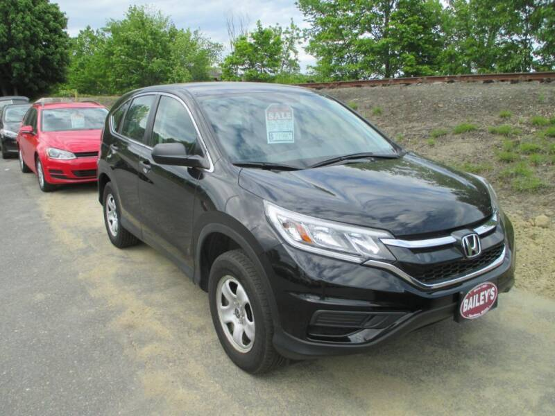 2016 Honda CR-V for sale at Percy Bailey Auto Sales Inc in Gardiner ME