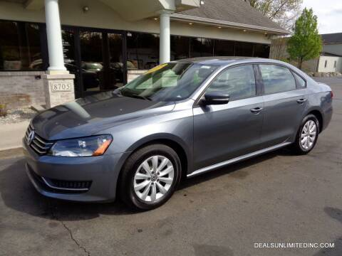2014 Volkswagen Passat for sale at DEALS UNLIMITED INC in Portage MI