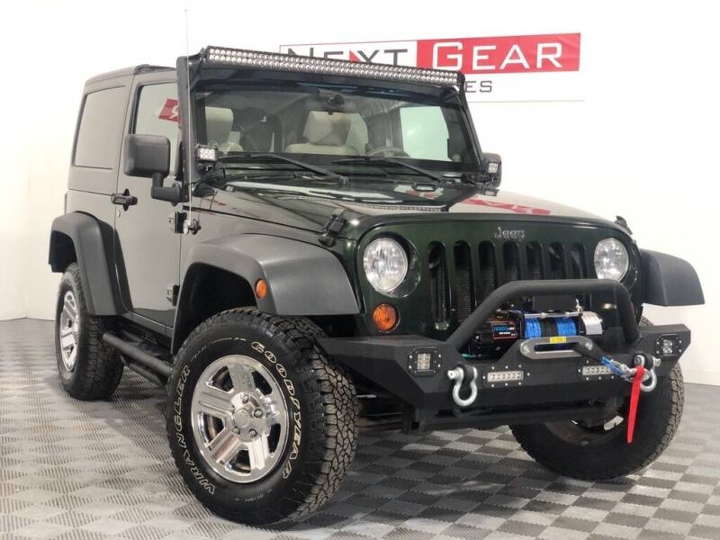 2010 Jeep Wrangler for sale at Next Gear Auto Sales in Westfield IN