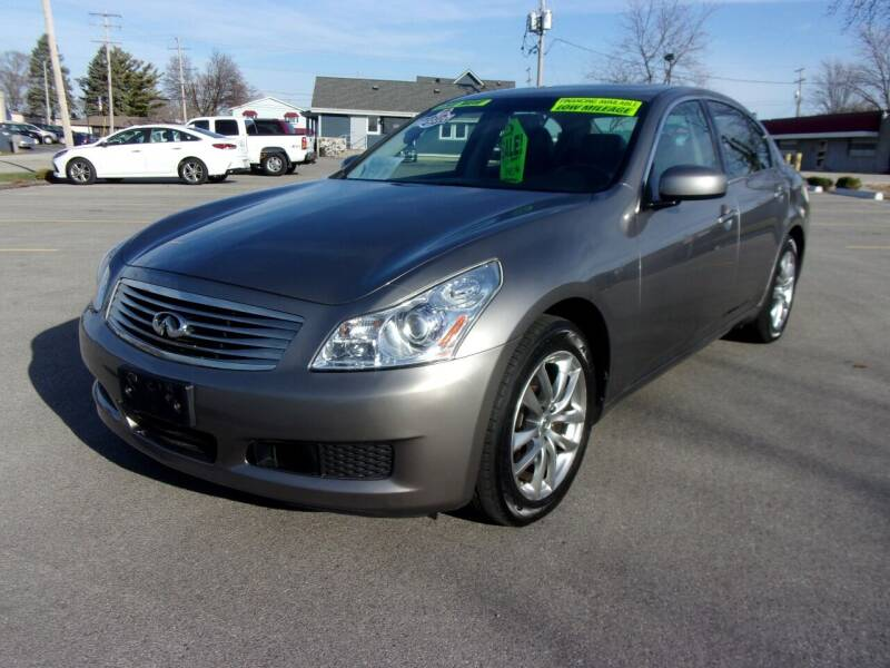 2007 Infiniti G35 for sale at Ideal Auto Sales, Inc. in Waukesha WI