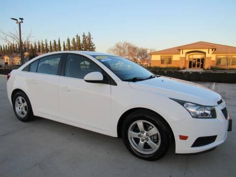 2014 Chevrolet Cruze for sale at Repeat Auto Sales Inc. in Manteca CA