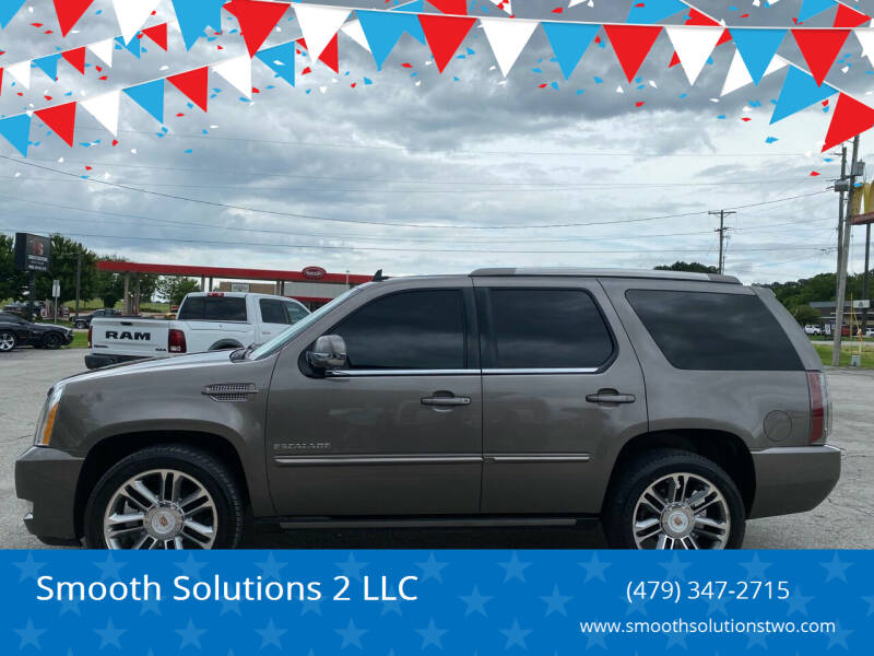 2013 Cadillac Escalade for sale at Smooth Solutions 2 LLC in Springdale AR