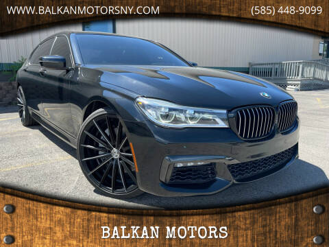2017 BMW 7 Series for sale at BALKAN MOTORS in East Rochester NY