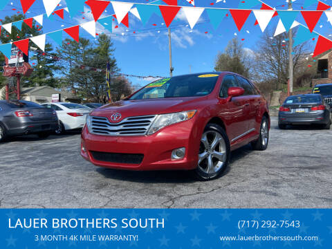 2011 Toyota Venza for sale at LAUER BROTHERS SOUTH in York PA