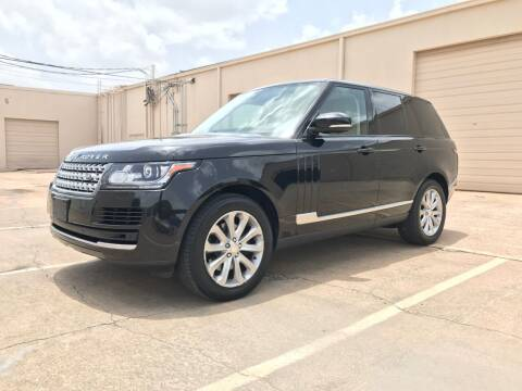 2014 Land Rover Range Rover for sale at Italy Auto Sales in Dallas TX