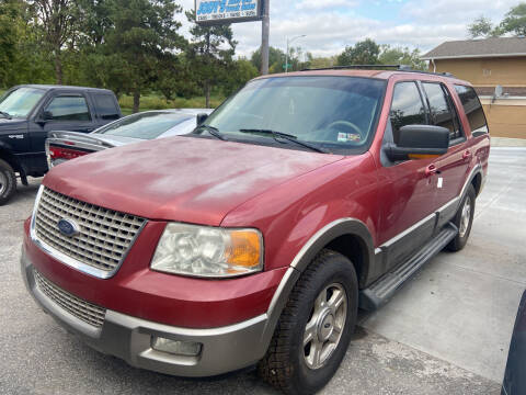 2003 Ford Expedition for sale at Jodys Auto and Truck Sales in Omaha NE