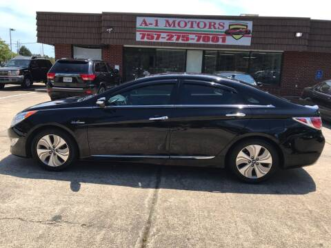 2014 Hyundai Sonata Hybrid for sale at A-1 Motors in Virginia Beach VA