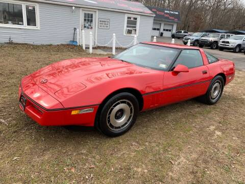 1984 Chevrolet Corvette for sale at Manny's Auto Sales in Winslow NJ