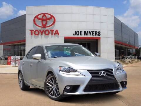 2016 Lexus IS 300 for sale at Joe Myers Toyota PreOwned in Houston TX