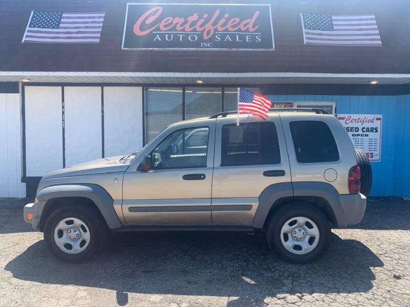 2005 Jeep Liberty for sale at Certified Auto Sales, Inc in Lorain OH