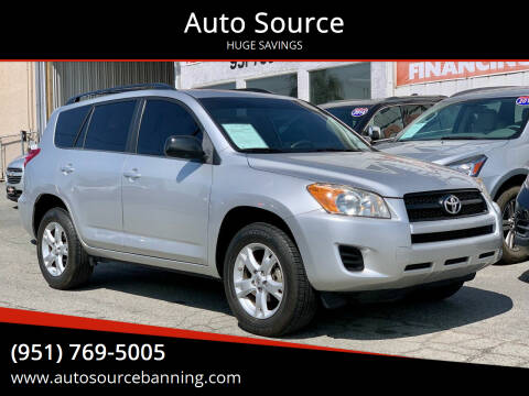 2011 Toyota RAV4 for sale at Auto Source in Banning CA