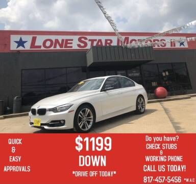 2013 BMW 3 Series for sale at LONE STAR MOTORS II in Fort Worth TX