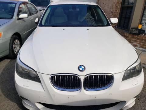 2008 BMW 5 Series for sale at Jimmys Auto INC in Washington DC