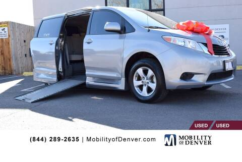 2012 Toyota Sienna for sale at CO Fleet & Mobility in Denver CO
