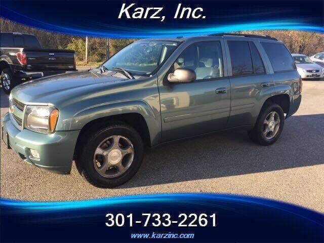 2009 Chevrolet TrailBlazer for sale at Karz INC in Funkstown MD