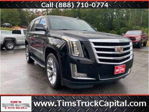 2017 Cadillac Escalade for sale at TTC AUTO OUTLET/TIM'S TRUCK CAPITAL & AUTO SALES INC ANNEX in Epsom NH