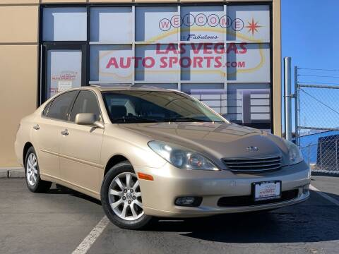 2004 Lexus ES 330 for sale at Las Vegas Auto Sports in Las Vegas NV