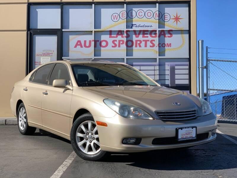 2004 Lexus ES 330 for sale at Las Vegas Auto Sports in Las Vegas NV