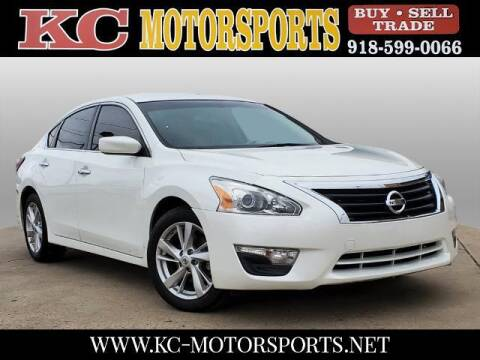 2014 Nissan Altima for sale at KC MOTORSPORTS in Tulsa OK