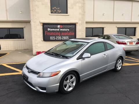 2008 Honda Civic for sale at Diamond Motors in Pecatonica IL